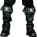 FunWorld 90120 Pirate Boot Covers Adult