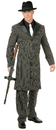 Charades Costumes CH01820-BKWH-TEEN Gangster Suit Long Jacket Teen Costume