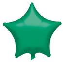 Party Destination 17127 Green Star Foil Balloon