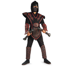 Rubies Costumes 882152-000-L Red Skull Ninja Deluxe Child Costume