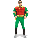 Rubies Costumes 888078-000-M DC Comics Robin Muscle Chest  Adult