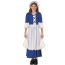 Forum Novelties 140553 Little Colonial Miss Child Medium 8/10 (Colonial G)