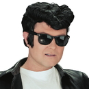 Fun World 141601 Greaser Wig (Black)