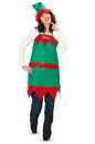 Halco 142145 Elf Holiday Apron and Hat  Adult