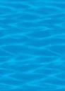 Amscan 670218 40' Ocean Blue Room Roll