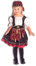 Forum Novelties 60580 Lil' Pirate Cutie Toddler / Child Costume, Small (4-6)