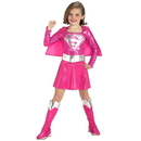 Rubies Costumes 145093 Pink Supergirl Toddler/Child Costume - Small