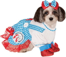 Rubies Costumes 885911S The Wizard of Oz Dorothy Dog Costume, Small