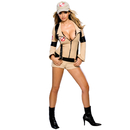 Rubies Costumes 888607-000-S Secret Wishes Ghostbuster Sexy Adult Costume