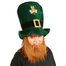 Beistle 147982 Plush Leprechaun Hat with Beard