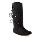 Ellie Shoes 111ThomasBlkS Thomas (Black) Adult Boots, Small (8-9)