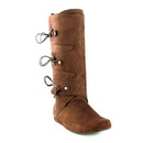 Ellie Shoes 111ThomasBrwnL Thomas (Brown) Adult Boots, Large (12-13)