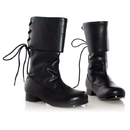 Ellie Shoes 101SparrowBlkL Sparrow (Black) Child Boots, Large (2-3)