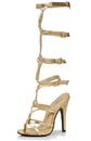 Ellie Shoes 149508 Sexy Adult Shoes GLD 10 (D)