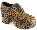 Ellie Shoes 312PimpLEO1011 Leopard Print Pimp Adult Shoes