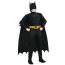 Rubies Costumes 149804 Batman The Dark Knight Rises Deluxe Muscle Chest Child Costume - Medium