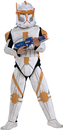 Rubies Costumes 883207-000-S Star Wars Animated Deluxe Clone Trooper Commander Cody Child Costume