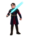 Rubies Costumes 883195-000-L Star Wars Animated Deluxe Anakin Skywalker Child Costume