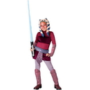 Rubies Costumes 883199L Star Wars Animated Deluxe Ahsoka Child Costume, Large