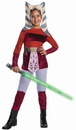 Rubies Costumes 149992 Star Wars Animated Deluxe Ahsoka Child Costume - Small