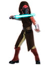 Rubies Costumes 883203-000-S Star Wars Animated Deluxe Plo Koon Child Costume