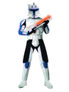 Rubies Costumes 888801-000-STD Star Wars Animated Deluxe Clone Trooper Leader Rex Adult Costume