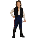 Rubies Costumes 883163-000-L Star Wars Deluxe Han Solo Child Costume