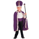 Forum Novelties 62055 Purple King Robe and Crown Child Costume