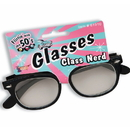 Forum Novelties 33791 Class Nerd Glasses with Clear Lenses
