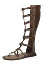 Pleaser Shoes ROMAN-15-BROWN-L Roman (Brown) Adult Sandals, Large (12-13)