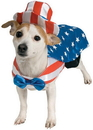 Rubies 153803 Uncle Sam Pet Costume Small