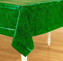 Amscan 154657 Green Grass Plastic Tablecover