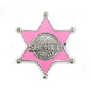 Forum Novelties 154955 Pink Sheriff Badge