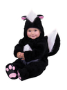 Charades Costumes CH82033-AS-INFT Skunk Infant / Toddler Costume