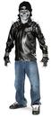 Rubies Costumes 886056-000-NS Metal Skull Biker Teen Costume