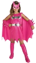 Rubies Costumes 155989 Pink Batgirl Child Costume, X-Small (2-4)