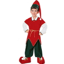 Rubies Costumes 10129S Velvet Elf Child Costume, Small