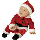 Rubies Costumes 885320-000-NWBN Velvet Santa Infant / Toddler Costume