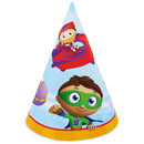 Super Why Cone Hats (8)