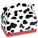 Birthday express 174042 Cow Print Empty Favor Boxes