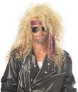 California Costumes 179051 Heavy Metal Rocker Blonde Adult Wig