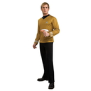 Rubies Costumes 889117L StarTrek Movie (2009) Gold Shirt Adult Costume, Large