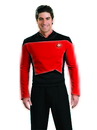 Rubies Costumes 888979-000-M Star Trek Next Generation - Red Shirt Deluxe Adult Costume