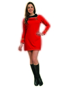 Rubies Costumes 889061-000-XS Star Trek Classic Red Dress Deluxe Adult Costume