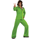 Rubies Costumes 889183-000-STD Leisure Suit Deluxe (Lime) Adult Costume