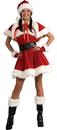 Rubies Costumes 888069-000-S Velvet Miss Santa Adult Costume