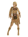 Charades Costumes CH02083-TAN-S Sacajawea Indian Maiden Adult Costume