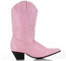 Ellie Shoes 182049 Rodeo (Pink) Child Boots, Small (11/12)