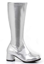 Ellie Shoes 182060 Dora (Silver) Child Boots, Large (2/3)