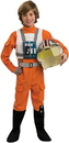Rubies Costumes 883164L Star Wars X-Wing Fighter Pilot Child Costume, Large (12-14)